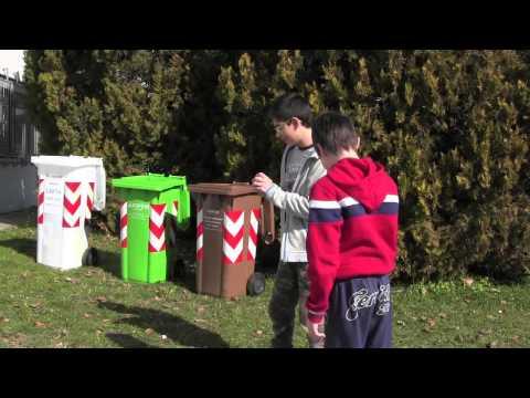 Cortisonici e Legambiente, lo spot sulla raccolta differenziata