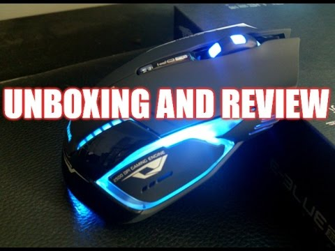 E-3lue E-Blue Mazer II 2500 DPI Wireless Optical Gaming Mouse Unboxing and Review