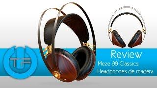 Meze 99 Classics Headphone de madera muy elegante