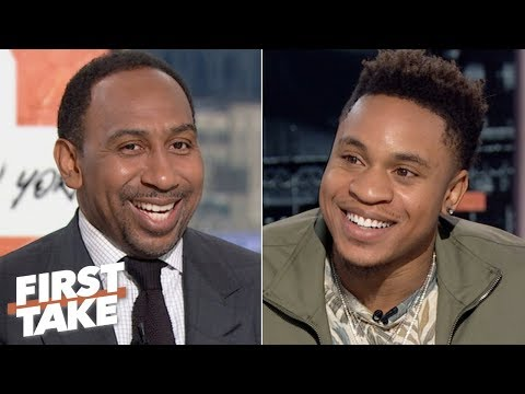 Video: Rotimi talks Power season 6, NFL predictions and the greatest Giants player of all time | First Take
