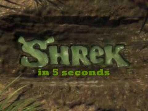 Shrek v 5-ti sekundách