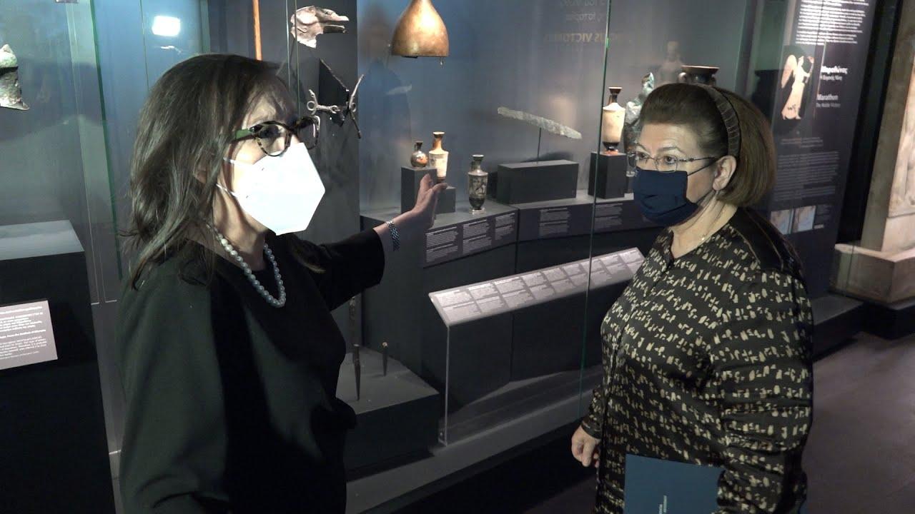 Εγκαινιάστηκε από την Λ. Μενδώνη, η  έκθεση «Οι Μεγάλες Νίκες. Στα Όρια του Μύθου και της Ιστορίας»