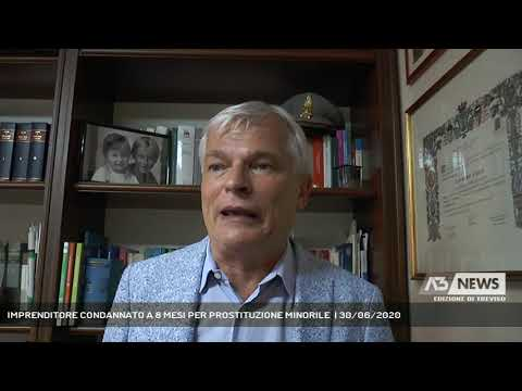 IMPRENDITORE CONDANNATO A 8 MESI PER PROSTITUZIONE MINORILE  | 30/06/2020
