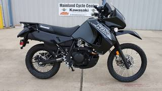 8. SALE $5,399:  2018 Kawasaki KLR 650 in Metallic Spark Black