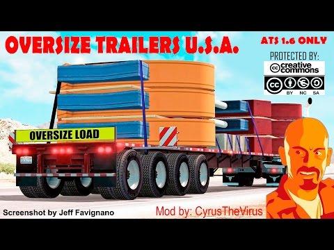 OVERSIZE TRAILERS U.S.A. ATS 1.6.x