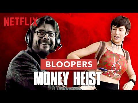 Extended Bloopers | Money Heist | La Casa De Papel | Netflix India