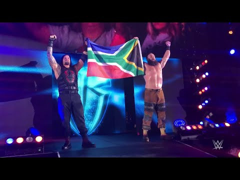 Roman Reigns, Braun Strowman stand tall with South Africa