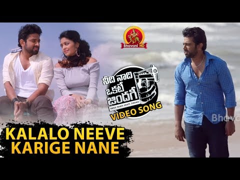 Needi Naadi Okate Zindagi Video Songs - Kalalo Neeve Karige Nane Video Song - Janani Iyer, Rameez