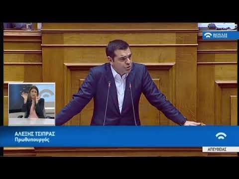 Α.Τσίπρας (Πρωθυπουργός)(Κύρωση Συμφωνίας Πρεσπών)(24/01/2019)