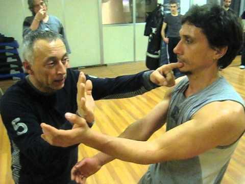 EWCA Franco Regalzi - Training Chi Sao - 11