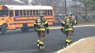 Local Fire Department Holds Demonstration