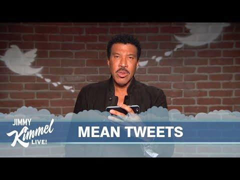 Jimmy Kimmel s Mean Tweets Takes on Musicians