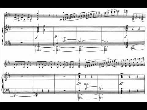 Caprice for Violin and Orchestra Op 52.