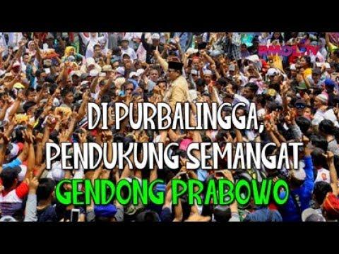 Di Purbalingga, Pendukung Semangat Gendong Prabowo