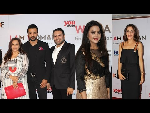 Amruta Fadnavis | Rohit Roy & Malaika Khan At | I Am Women | Award