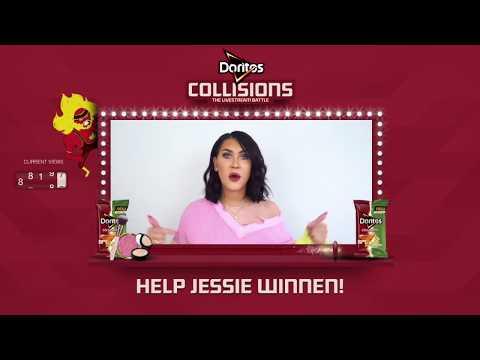 KIJK 28 JUNI 16.00 naar de Doritos Collisions Livestream Battle #TeamJessie (видео)