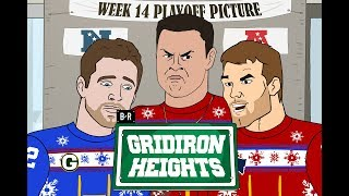 It's Playoff Picture Day! Tough Day for Aaron Rodgers… | Gridiron Heights S3E14