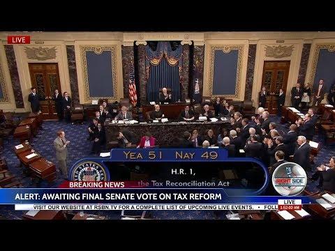 🚨Historic: U.S. Senate Passes Trump Sweeping Tax Reform Bill 51-49