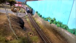 More on the layout with a T class in action later crossing(Passing or meet) a B class on passenger and Y class on freight