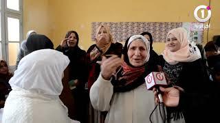 """إقبال نسوي كبير على مكاتب الإقتراع بولاية """"النعامة"""""""