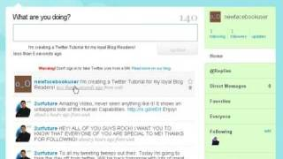 Twitter Tutorial - Getting Started