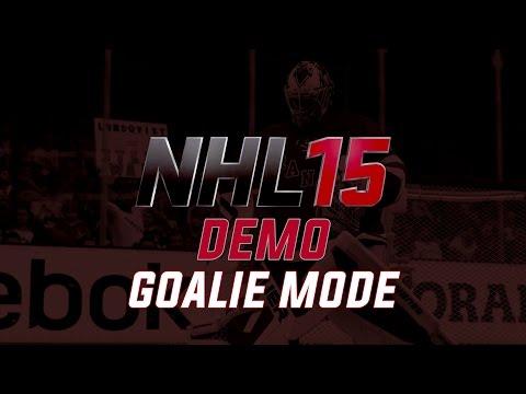 NHL 15 Demo: Goalie Mode
