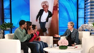 Video Ellen's 12 Days Surprise for the Dixon Family MP3, 3GP, MP4, WEBM, AVI, FLV Oktober 2018