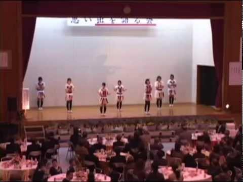 大笠中学校有志 若者踊り