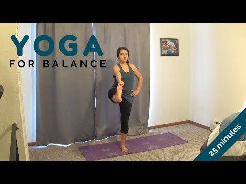 25 Minute Yoga Flow for Balance with Alex Howlett