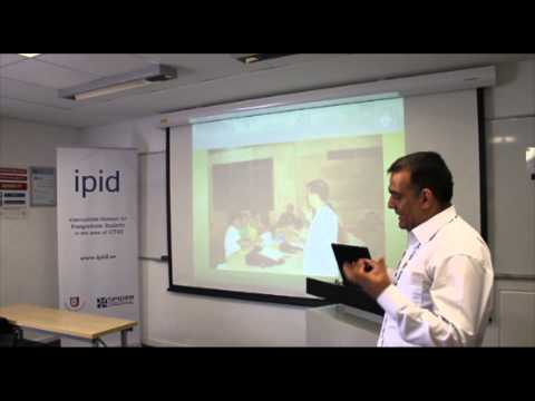 Tariq Zaman at IPID 8th Symposium in 2013, Cape Town, South Africa