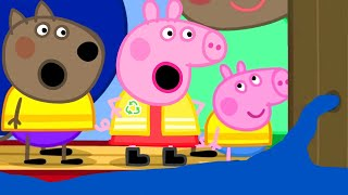 Video Peppa Pig Official Channel   Peppa Pig's Trip on a Canal Boat MP3, 3GP, MP4, WEBM, AVI, FLV Agustus 2019