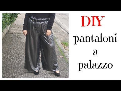 DIY tutorial: come cucire un paio di pantaloni a palazzo