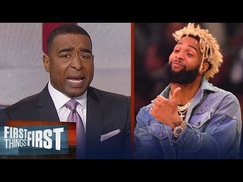 Cris Carter's message to Odell Beckham Jr: I'm so disappointed, grow up | FIRST THINGS FIRST (видео)