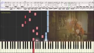 Дюны - Ваенга Елена (Ноты и Видеоурок для фортепиано) (piano cover)