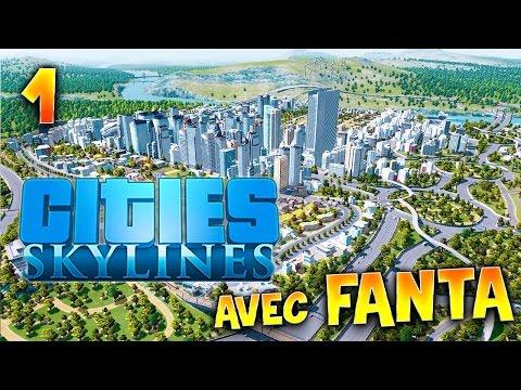 Cities Skylines - Ep.1 : Fanta York - Let's Play Fr avec TheFantasio974 (видео)