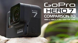 Video GoPro Hero 7 Black vs Hero 6, Hero 5, Sony FDR X3000 and YI 4K+ [4K] MP3, 3GP, MP4, WEBM, AVI, FLV Mei 2019