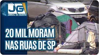 Cresce a cada ano o número de moradores em situação de rua, na cidade de São Paulo. Atualmente, são quase vinte mil...