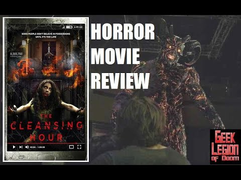 THE CLEANSING HOUR ( 2019 Ryan Guzman ) aka THE DEVIL'S HOUR Exorcism Horror Movie Review