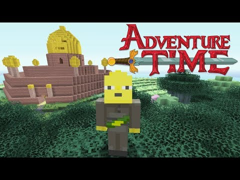 Minecraft - Adventure Time -  Lemongrab (видео)