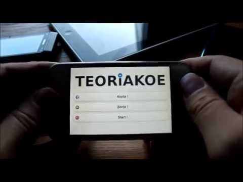 Video of Teoriakoe (B-license)