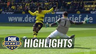 Borussia Dortmund vs. Hannover 96   2017-18 Bundesliga Highlights