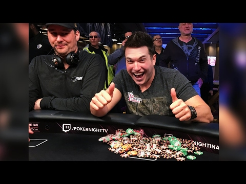 My $57,175 Pot Against Phil Hellmuth And Jeremy Kaufman!