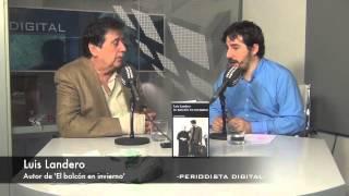 Luis Landero, autor de 'El balcón en invierno'