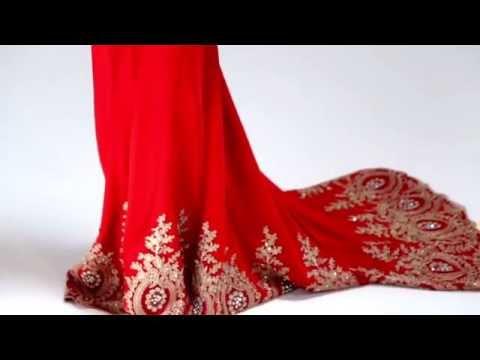 Shail K Beaded Prom Dress 3912
