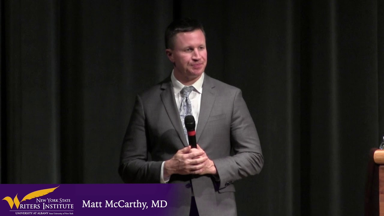 Matt McCarthy MD on Superbugs and Antibiotics