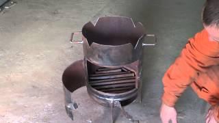 Как сделать печь для казана