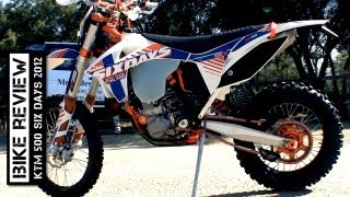 8. KTM 500 Six Days 2012 review