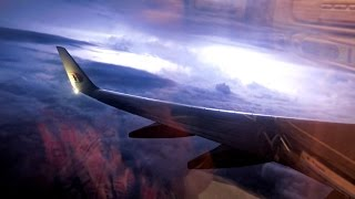 Video Malaysia Airlines Flight Experience in Stormy Weather: MH607 Kuala Lumpur to Singapore MP3, 3GP, MP4, WEBM, AVI, FLV Juni 2018