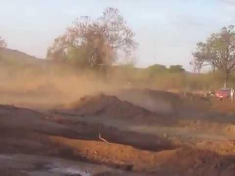 Velocross em Riachão do Aricobé - Angical Bahia, dia 28 de setembro de 2014