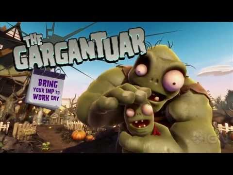 Plants vs Zombies: Garden Warfare Gameplay Trailer Commentary